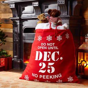 Asstd National Brand Christmas Santa Sack Gift Bag