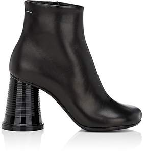 MM6 MAISON MARGIELA Women's Cup-Heel Leather Ankle Boots