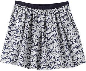 Jacadi Foliebis Printed Skirt