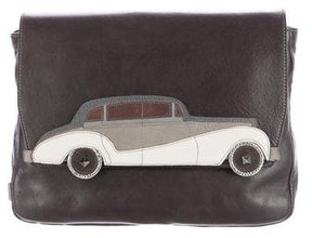 Marc Jacobs Rolls Clutch - GREY - STYLE