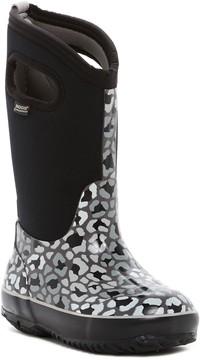 Bogs Classic Leopard Waterproof Boot (Toddler & Little Kid)