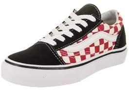Vans Kids Old Skool (checkerboard) Skate Shoe.