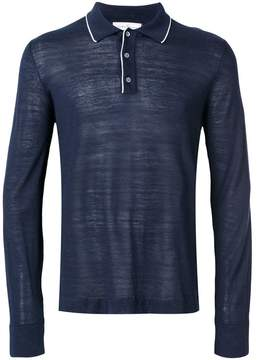 Salvatore Ferragamo long-sleeved polo jumper