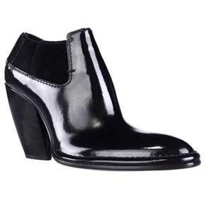 CNC Costume National 1115930 Pointed-toe Ankle Boots, Nero.