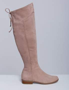Lane Bryant Stretch Over-the-Knee Flat Boot