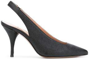L'Autre Chose pointed slingback pumps