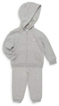 Ralph Lauren Baby's Two-Piece Hoodie & Pants Set