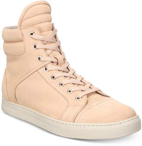 Kenneth Cole Men's Double Header Suede High-Top Sneakers Men's Shoes