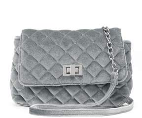 Candie's® Velvet Quilted Crossbody Bag