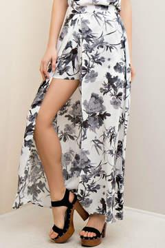 Entro Floral Maxi Short/Skirt