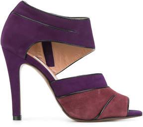 L'Autre Chose two-tone sandals