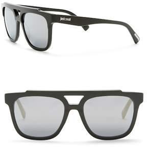 Just Cavalli Aviator 56mm Plastic Sunglasses