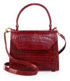 Nancy Gonzalez Mini Lily Crocodile Leather Crossbody Bag