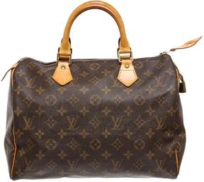Louis Vuitton Speedy cloth satchel - BROWN - STYLE