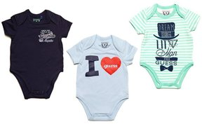 GUESS 3-Piece Bodysuit Set (0-24M)
