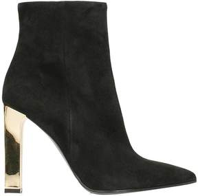 Lerre Black Suede Ankle Boot