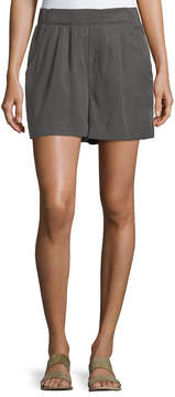 Chelsea & Theodore Cuffed Pleated Shorts