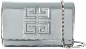 Givenchy Silver 4G Shoulder Bag
