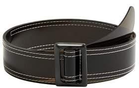 MANGO Contrast vinyl belt