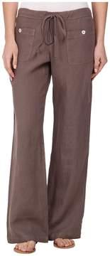 Allen Allen Linen Long Pant LL9497 Women's Casual Pants
