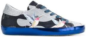 Philippe Model hummingbird print sneakers