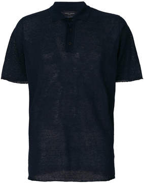 Roberto Collina buttoned up polo shirt