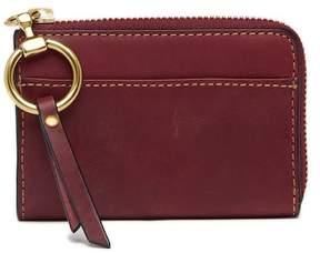 Frye Ilana Harness Small Zip Leather Wallet