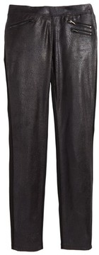 Tractr Girl's Crackle Pull-On Pants