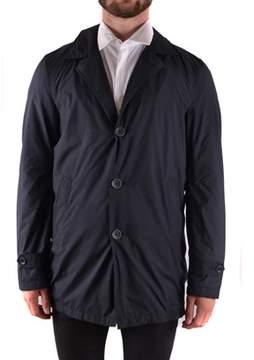 Herno Men's Black Polyester Blazer.