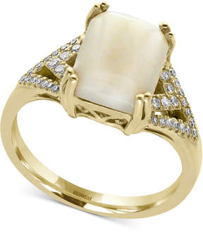 Effy Aurora by Opal (2 ct. t.w.) and Diamond (1/6 ct. t.w.) Ring in 14k Gold