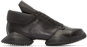 Rick Owens Black Leather adidas by Sneakers