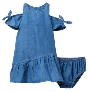 AG Jeans Denim Dress with Matching Bloomer (Baby Girls)