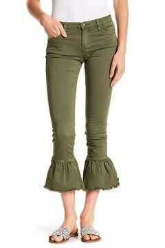 Blank NYC BLANKNYC Ruffled Flare Hem Crop Jeans