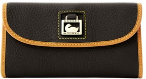 Dooney & Bourke Dillen Continental Clutch Wallet - BLACK - STYLE