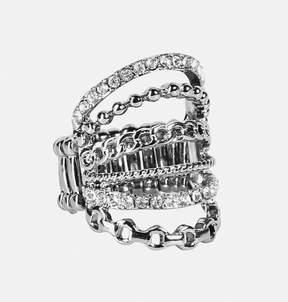 Avenue Chain Strand Stretch Ring