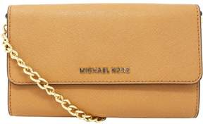 Michael Kors Jet Set Large Phone Crossbody - Acorn - ACORN - STYLE