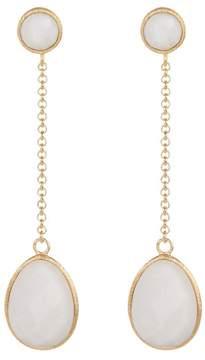 Rivka Friedman Mother of Pearl Dangle Earrings