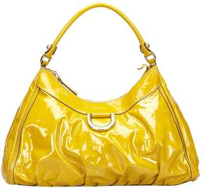 Gucci Hobo leather handbag - YELLOW - STYLE