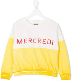 Bobo Choses mecredi print sweatshirt