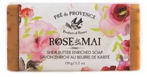 Pre de Provence Rose de Mai Shea Butter Soap by 5.2oz Soap Bar)