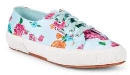 Superga Floral Low-Top Sneakers
