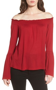 Cupcakes And Cashmere Women's Luck Off The Shoulder Top