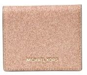 MICHAEL Michael Kors Flap Faux Leather Card Holder - ROSE GOLD - STYLE