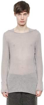 Damir Doma Sheer Wool Blend Sweater