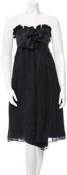 Doo.Ri Silk Strapless Dress w/ Tags