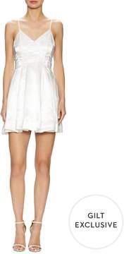 Keepsake Women's City Love Pleated Flared Dress