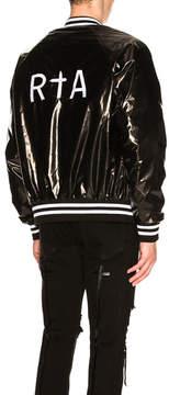 RtA Glossy Varsity Jacket