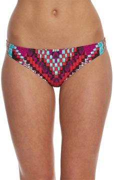 Bikini Lab Swimwear Bazket Case Cinched Back Hipster Bikini Bottom 8153533