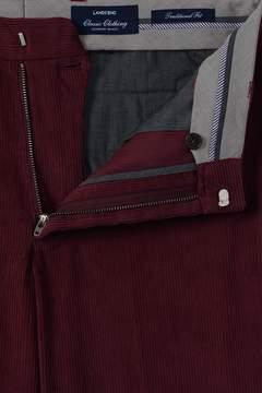 Lands' End Lands'end Men's Traditional Fit Plain Front 10-wale Corduroy Trousers