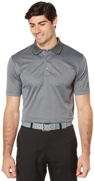 PGA Tour Tour Short Sleeve Jacquard Doubleknit Polo Shirt